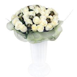 Ялта - купить белые розы 41 шт.