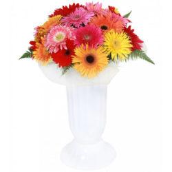 Букет из 17 Гербер - Ялта - заказ цветов