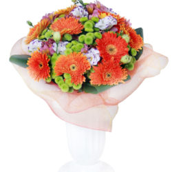 Ялта - Букет Красотка - Герберы, хризантемы, эустомы