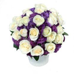 Купить Розы и Эустома в Ялте